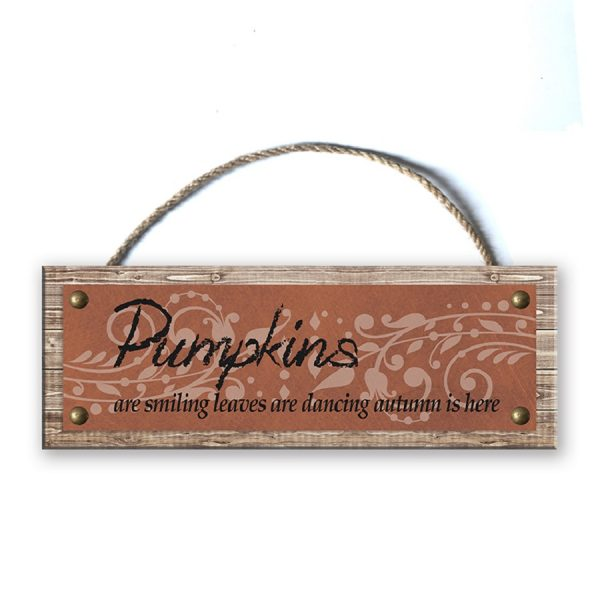 Wood Plank Wall Sign
